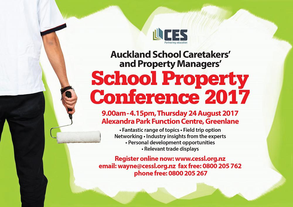 Auckland School Caretakers' and Property Managers' Conference